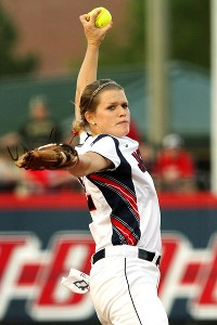 Hannah Campbell, perfect in Friday's game, is a big reason why South Alabama is seeded.