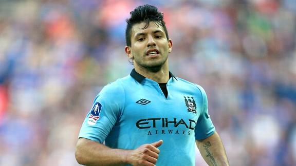 soc g aguero1x 576 - Aguero signs new Man City contract