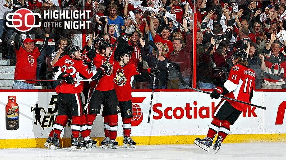 Senators Win