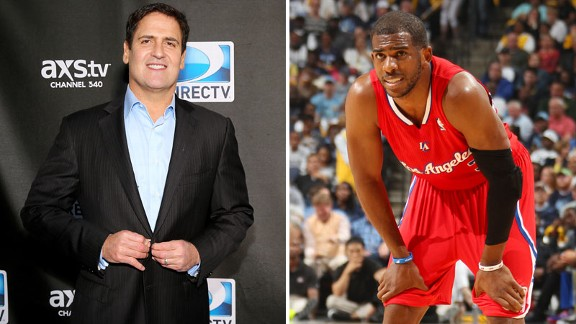 Mark Cuban, Chris Paul