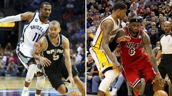 Tony Parker, LeBron James