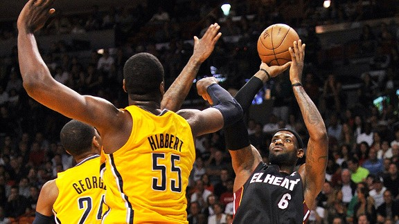 Miami Heat and  Indiana Pacers