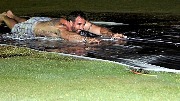 Jared Allen slip-slides away the weekend