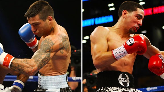 Lucas Matthysse and Danny Garcia
