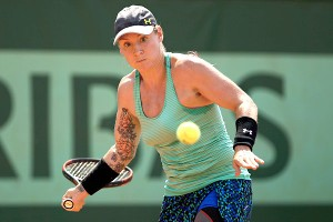 Bethanie Mattek-Sands has had some trouble in a train station, but is now on board with the Paris way of life.