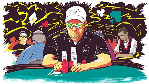 Chris Moneymaker Illo