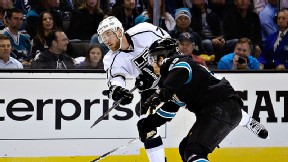 The Los Angeles Kings and San Jose Sharks