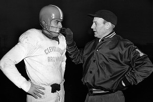 Otto Graham led Brown s Otto Graham Facemask