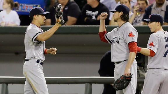 Jacoby Ellsbury, Clay Buchholz