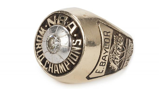 Elgin Baylor's ring