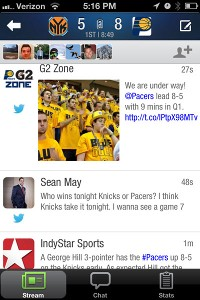 SportStream iPhone app