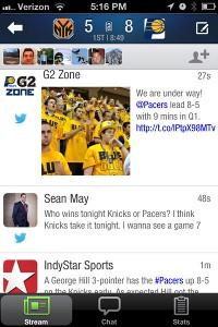 SportStream iPhone app
