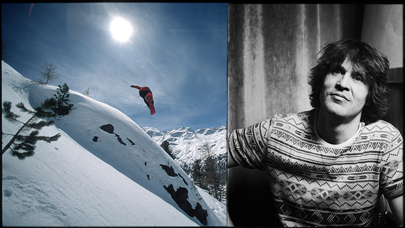 Michi Albin was one of the top pro snowboarders of the '90s. And then he disappeared ...