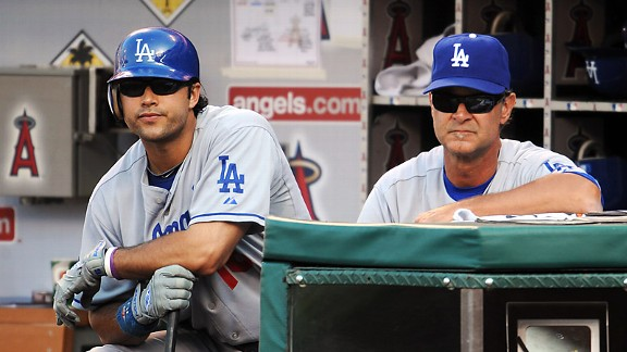 Andre Ethier and Don Mattingly