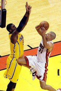 Shane Battier and Roy Hibbert