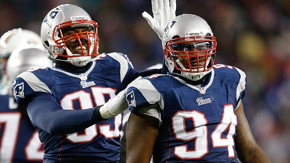 Chandler Jones and Justin Francis