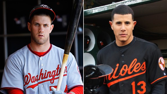 Bryce Harper and Manny Machado