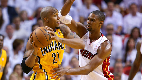 David West, Chris Bosh