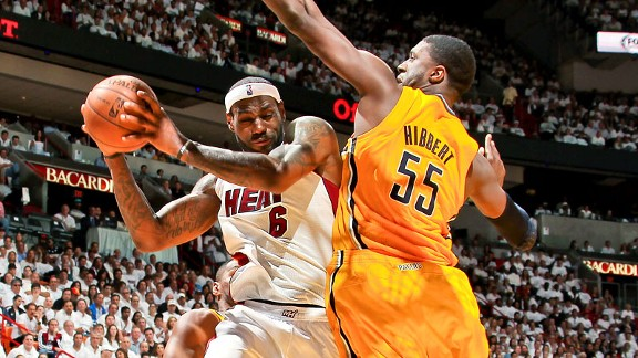 LeBron James, Roy Hibbert