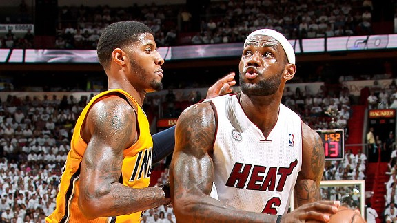 Will LeBron James win his fifth MVP award, or will Paul George dethrone the King?