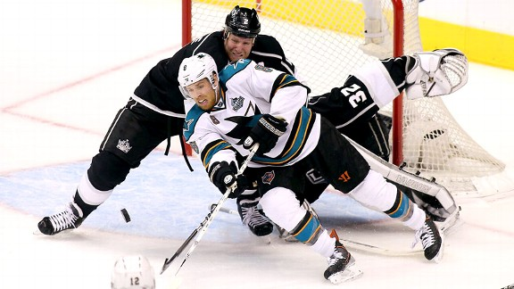 2013 NHL Playoffs - Conference Semifinals - Kings vs. Sharks - ESPN