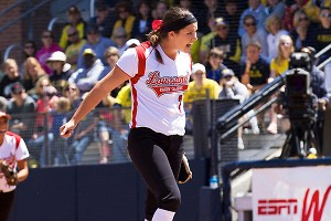 Ragin' Cajun pitcher Jordan Wallace shut out Michigan in Game 2, the first time this season the Wolverines had been held scoreless.