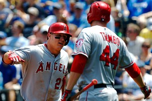 Mike Trout, Mark Trumbo