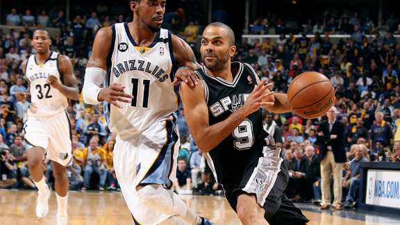 Tony Parker, Mike Conley