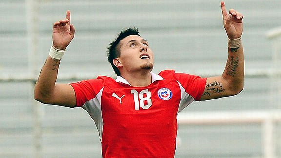 Chilean Under-20 player Nicolas Castillo has been linked with Serie A side Fiorentina.