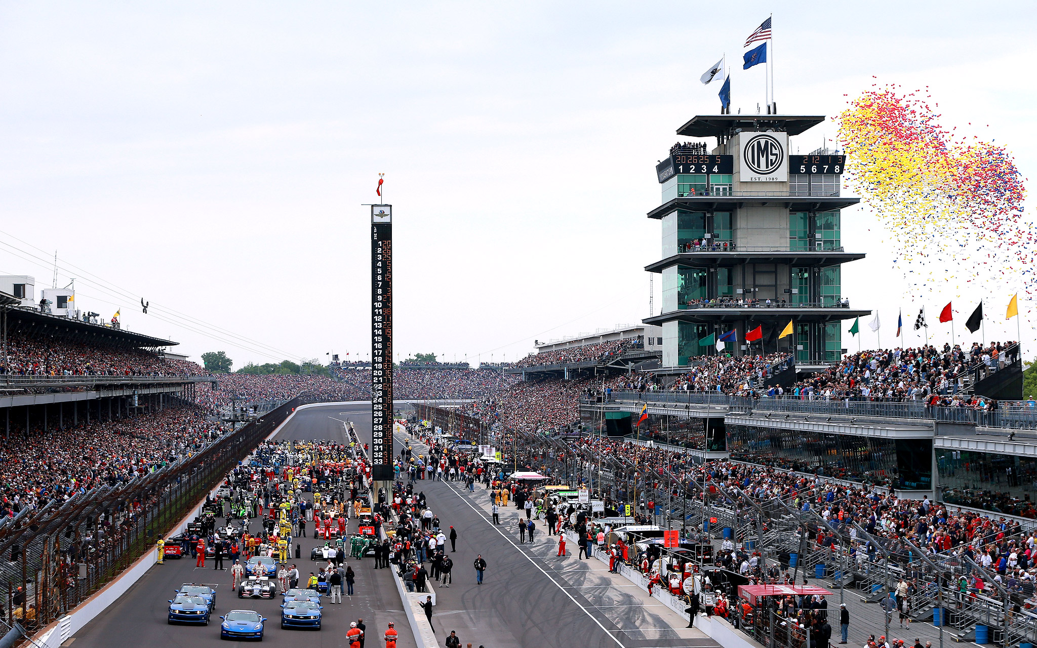 Let 39 em fly 97th indianapolis 500 espn for Indianapolis motor speedway indianapolis in
