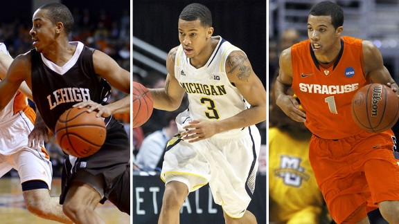 C.J. McCollum, Trey Burke, Michael Carter-Williams