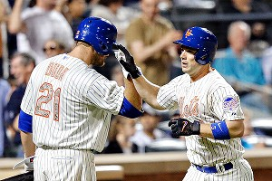 Lucas Duda and David Wright