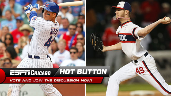 Anthony Rizzo, Chris Sale
