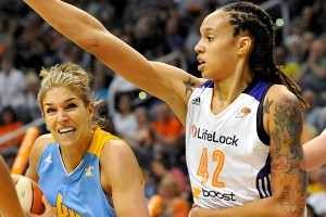 Elena Delle Donne and Brittney Griner