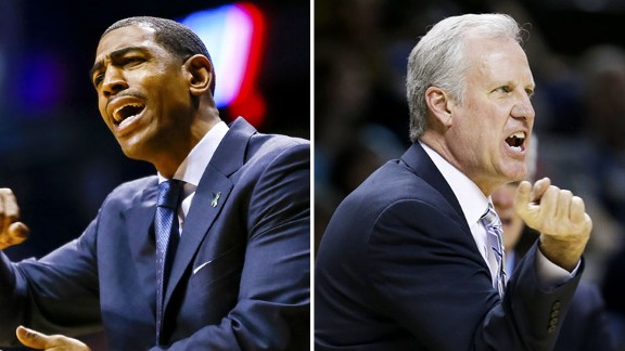 Kevin Ollie, Jim Crews