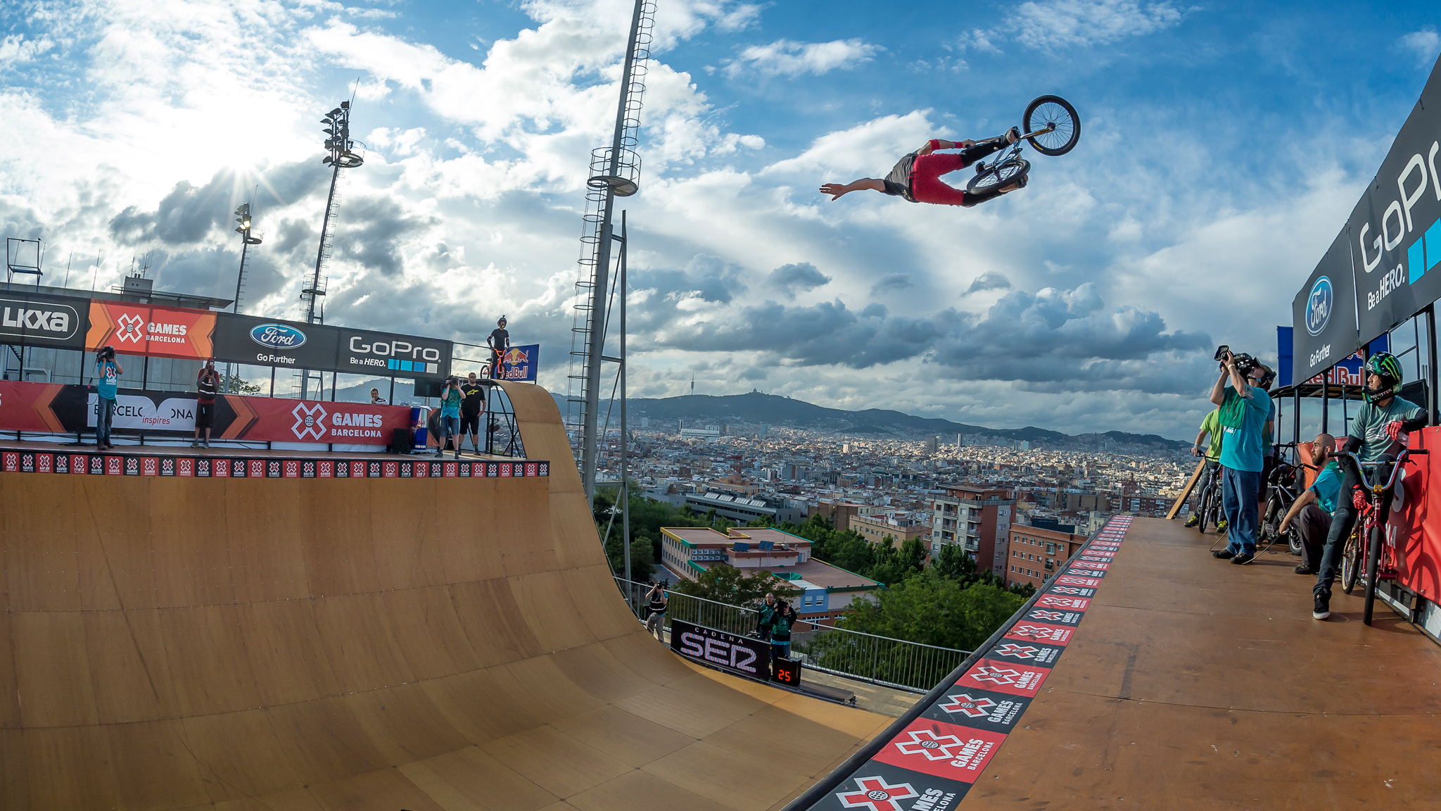 BMX firsts at X Games Barcelona-BMX firsts in Barcelona