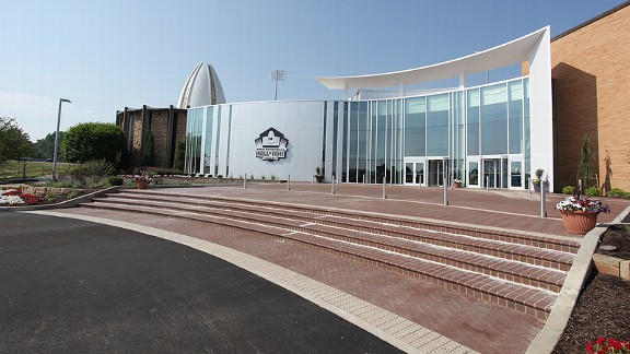 Newly renovated Pro Football Hall of Fame