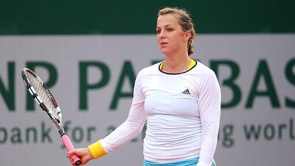 Anastasia Pavlyuchenkova's loss in the second round of the French Open caught her by surprise.