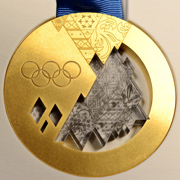 2014 Winter Olympics Medals