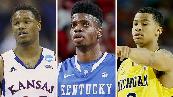 Ben McLemore, Nerlens Noel, and Trey Burke