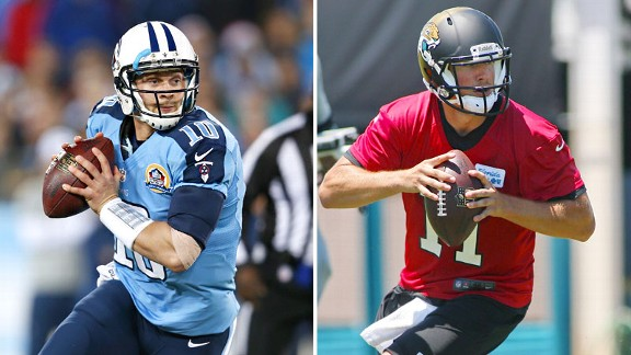 For Titans and Jags, Texans-like offenses