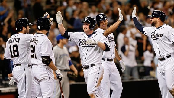 San Diego Padres celebrate