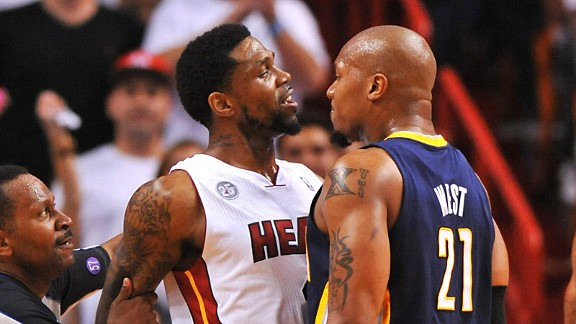 Udonis Haslem and David West
