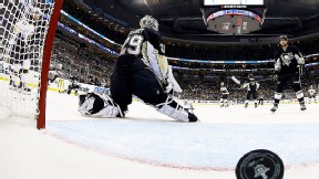 Marc-Andre Fleury of the Pittsburgh Penguins