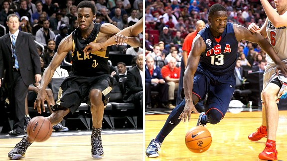 Andrew Wiggins, Julius Randle
