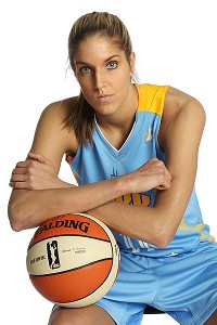 Elena Delle Donne says cooking allows her to focus on something other than basketball.