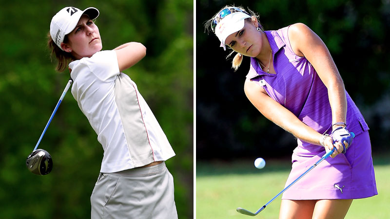 Jennifer Johnson, 21, and Lexi Thompson, 18, already have wins on the LPGA Tour.