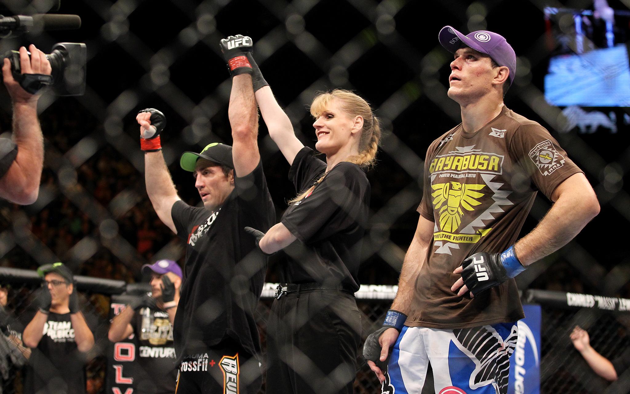 Tim Kennedy and Roger Gracie - UFC 162 - ESPN