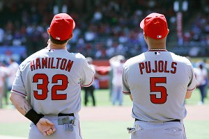 Josh Hamilton and Albert Pujols