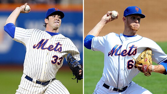 Matt Harvey and Zack Wheeler